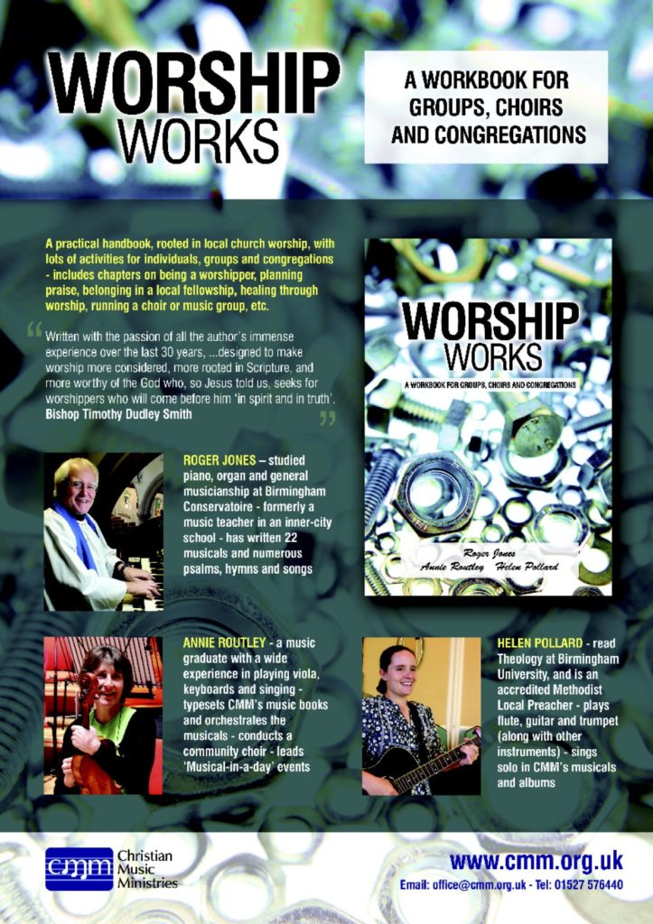 Worship Works information poster